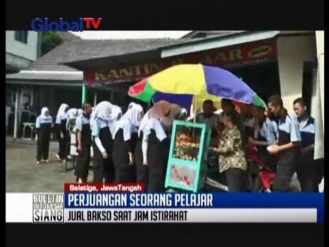 Perjuangan pelajar Salatiga, berjualan bakso bakwan disaat jam istirahat sekolah - BIS 16/05