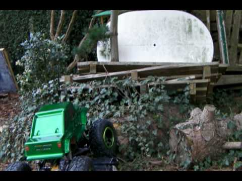 hsp rock crawler in the garden