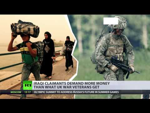 Two Iraqis sue British troops over detention during Iraq war