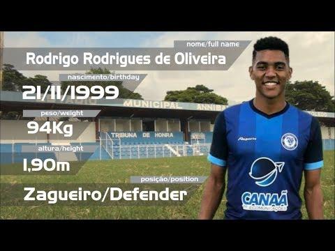 Rodrigo Oira - ZAGUEIRO