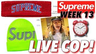 R.I.P AUTOFILL! Supreme F/W '18 Week 13 Live Cop!