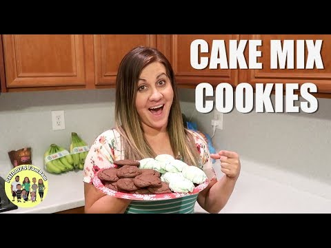 EASY & SIMPLE CAKE MIX COOKIE RECIPES | COOK WITH ME | CRINKLE COOKIE RECIPE | ROLO COOKIE RECIPE