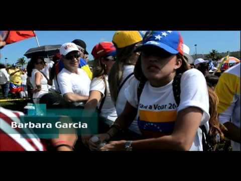 Miami answers Venezuela's SOS call.