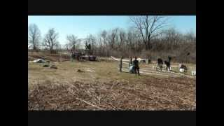 High Tunnel Raising At Fair Share Farm 3/10/12