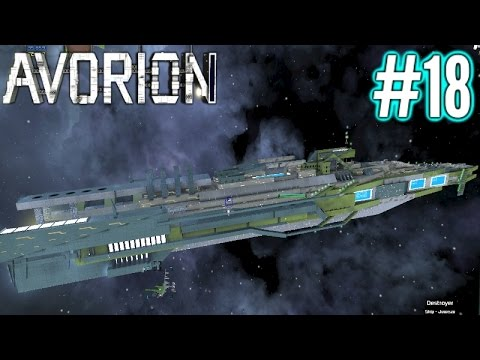 Avorion | Bigger Battleship Building!! | Part 18 | Avorion Gameplay