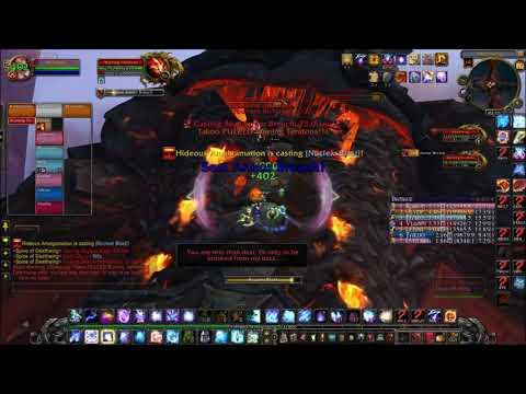 Arcane Mage vs Spine of Deathwing 10 NM ( Warmane )