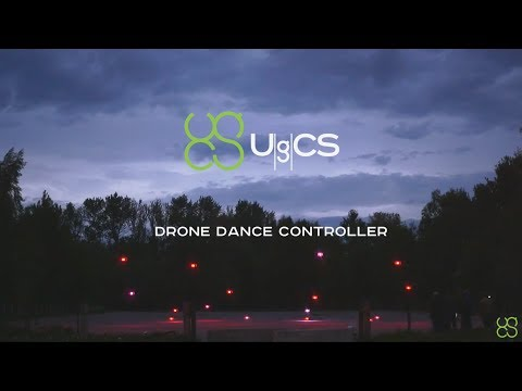 UgCS DDC and Art-Net integrations for drone swarm control