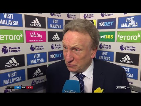 """Emiliano would have been proud of us."" Emotional Neil Warnock speaks after Cardiff victory"