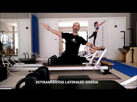 STUDIO PILATES LUGO. SIDE STRECH