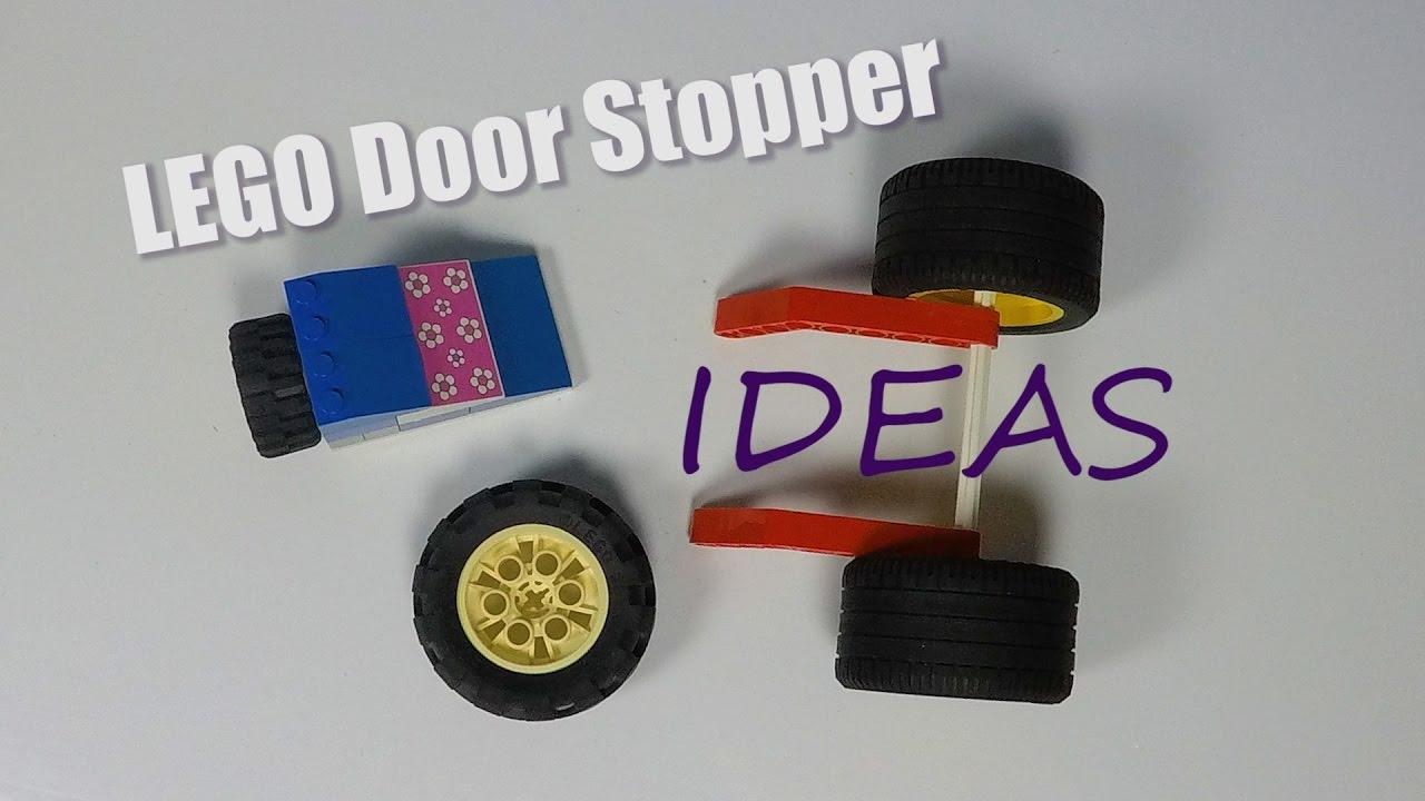 LEGO Door Stopper Ideas   LEGO Life Hacks