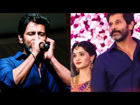 Vikram sings at his daughter Akshita Reception | TK 589