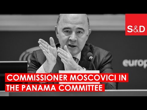 European Commissioner Moscovici on the Fight against Tax Evasion