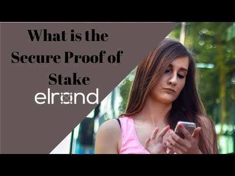 Elrond Network - What Is The Secure Proof Of  Stake (SPoS)