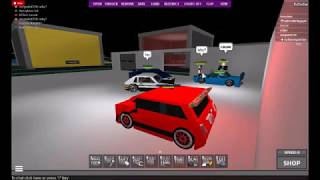 Roblox : BUILD AND RACE CITY - FIAT DANCE