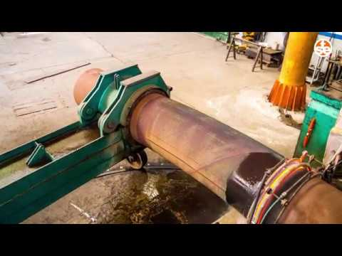 Induction Bending - 26 in induction pipe bending - TSE