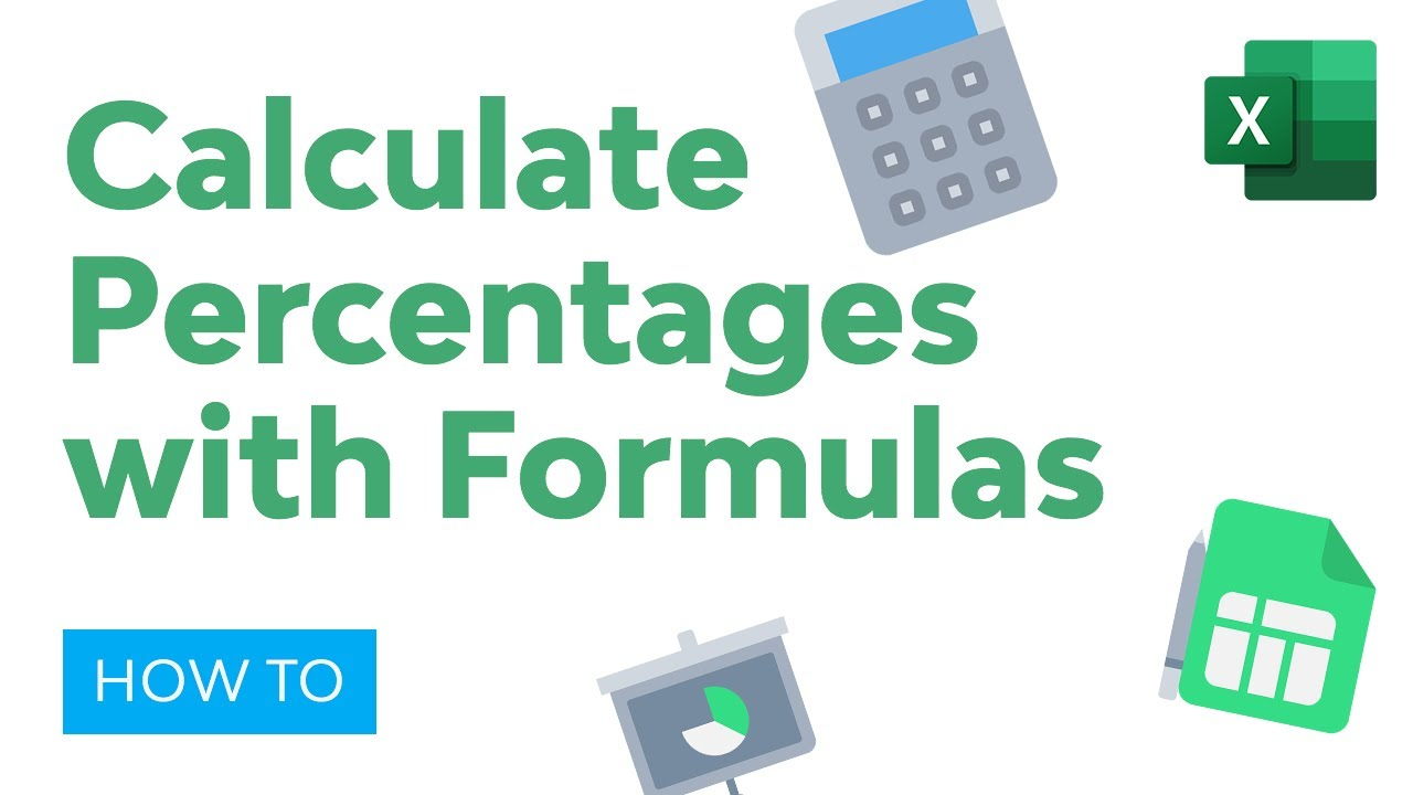 How to Calculate Percentages in Excel with Formulas