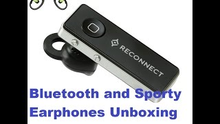 Reliance Reconnect earphones unboxing and review