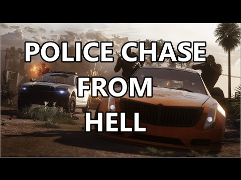 Battlefield Hardline: Police Chase From Hell! [Xbox One Gameplay]