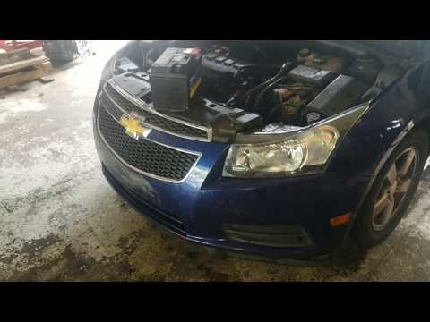 Chevy Cruze Battery Replacement