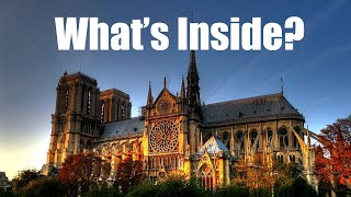 What's Inside The Notre-Dame Cathedral in Paris? (Before The Fire)