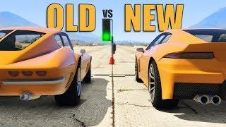 GTA V - Modern cars vs their Classic versions