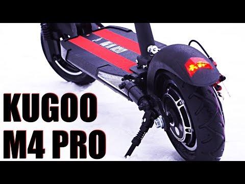 Электросамокат с сиденьем Kugoo M4 Pro [Минутный обзор]