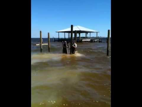 Sinking A Piling Redneck Style Doovi