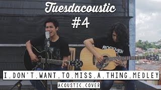 Gambar cover Aerosmith  - I Dont' Want to Miss A Thing Medley ( Tuesdacoustic Cover )