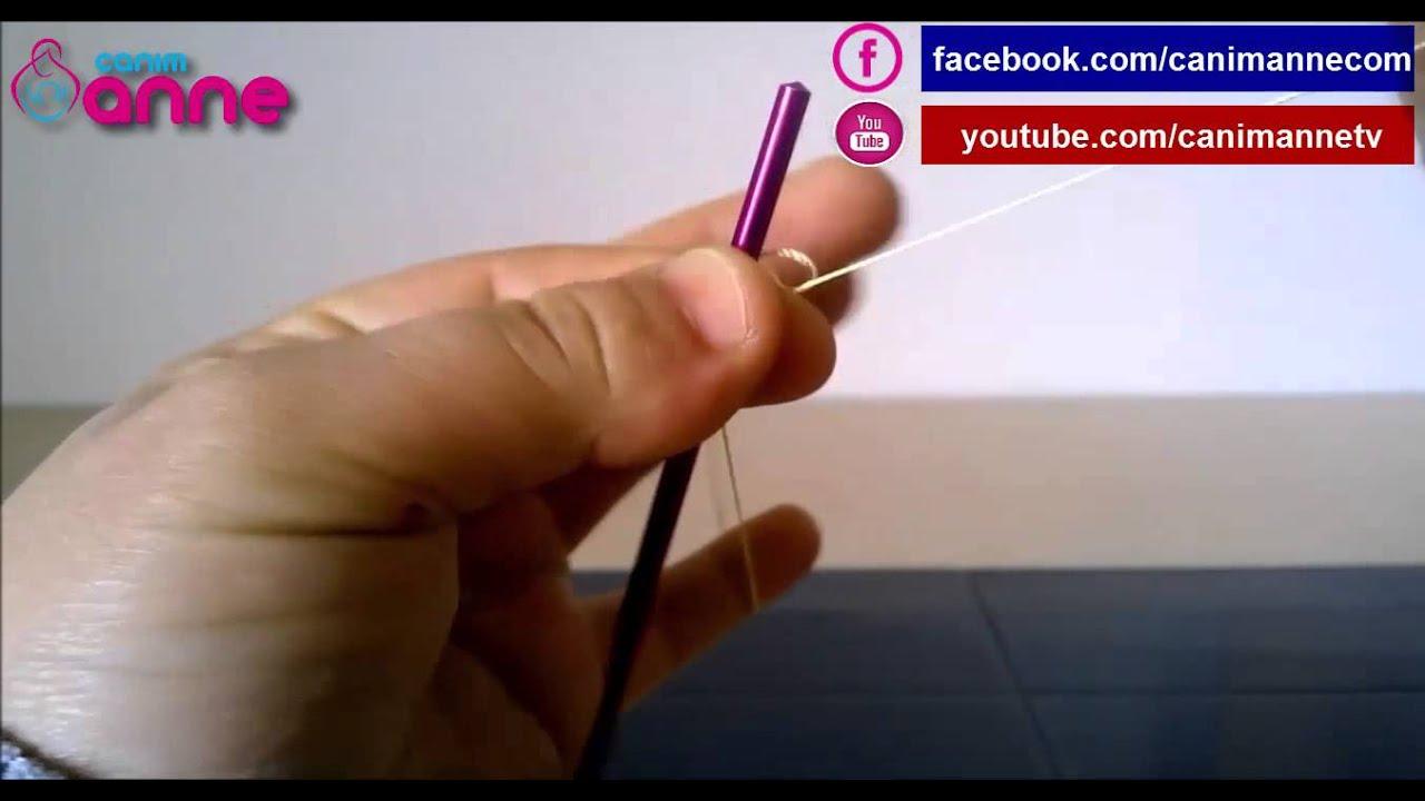 Bayram Şekeri Tığ Oyası Yapılışı Videolu Anlatımlı