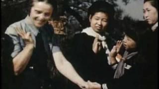Girl Scouting returns to Japan (©1949)