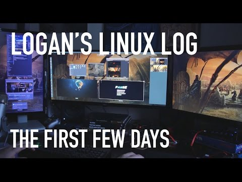 Logan's Linux Log: The First Few Days With Linux