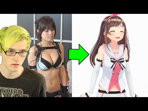 Exposing Kizuna AI's Secret... So this is how she makes videos!