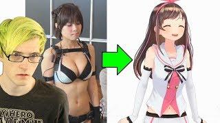 Exposing Kizuna AI's Secret... So this is how she makes videos!