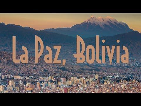 Dramatic Cityscape of La Paz on a Telephoto Lens