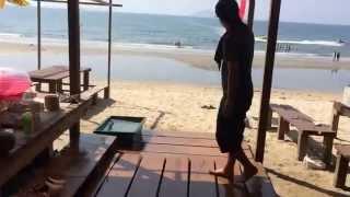深江海水浴場の海の家 波