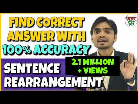 Download Para Jumbled Sentences Tricks | Sentence rearrangement Tricks for Bank Exams | Bank PO, Railway, SSC