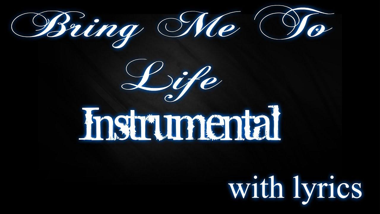 Bring Me To Life Instrumental - Free MP3 Download