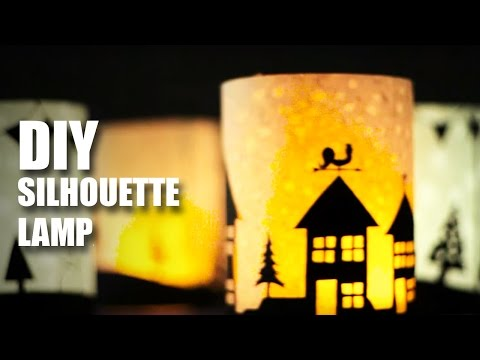 Mad Stuff With Rob - How To Make Silhouette Lamps | DIY Craft