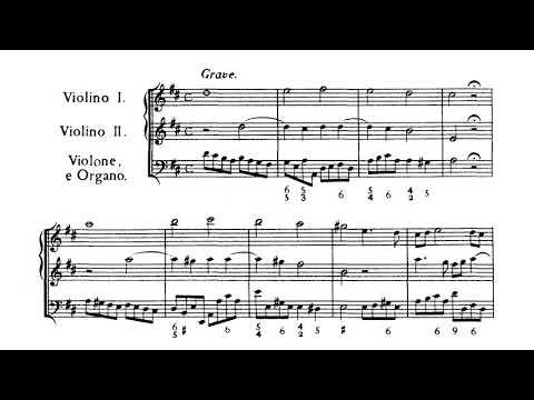 12 Trio Sonatas / Sonate da Chiesa, Op. 3 Part 1 - Corelli (Score)