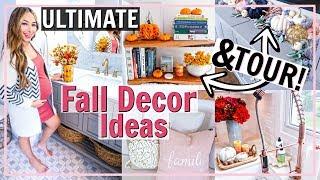 🎃ultimate Fall Decorate With Me & Tour Of Fall Home Decor! Fall Decor Ideas 2019 | Alexandra Beuter