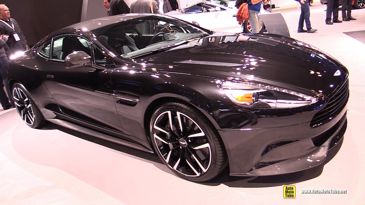 Aston Martin Vanquish Carbon Black Exterior And Interior - Black aston martin vanquish