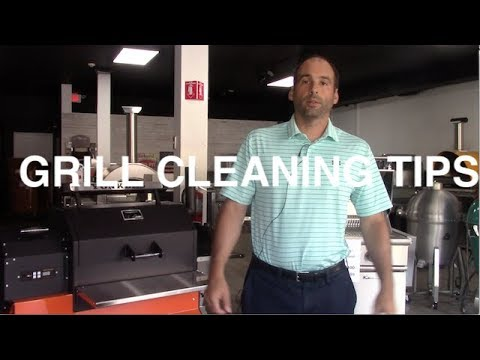 Ring of Fire: Grill Cleaning Tips