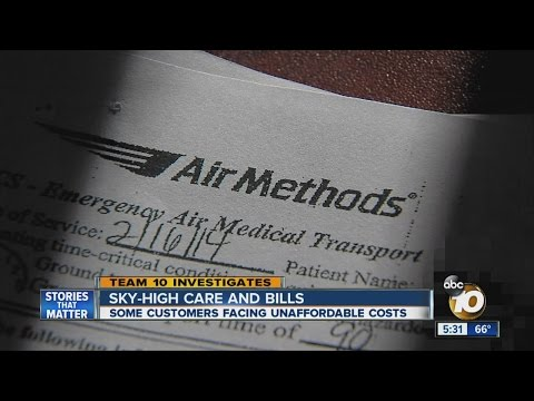 Sky-high care: Air ambulance patients face thousands in bills