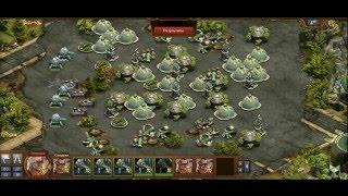 Forge of Empires (Rus) FOE ФОЕ - ЗАЩИТА ТОПа чемпионы будущего против рельсотронов пушек будущего