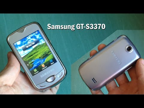 Samsung GT-S3370 / Corby 3G mini review - ringtones & sms tones