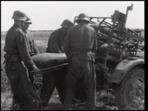 German Nebelwerfer Rocket Mortar