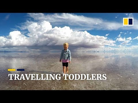 Globetrotting siblings visit nearly 40 countries between them before age five