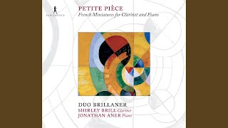 Pièce in G minor Clarinet and Piano Gabriel Pierné Book Only AL24831 Clarinet