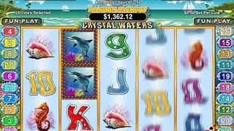 Play Crystal Waters 3D Slots Free