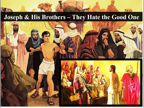 Free PowerPoint Sermon: Joseph & His Brothers – They Hate the Good One: